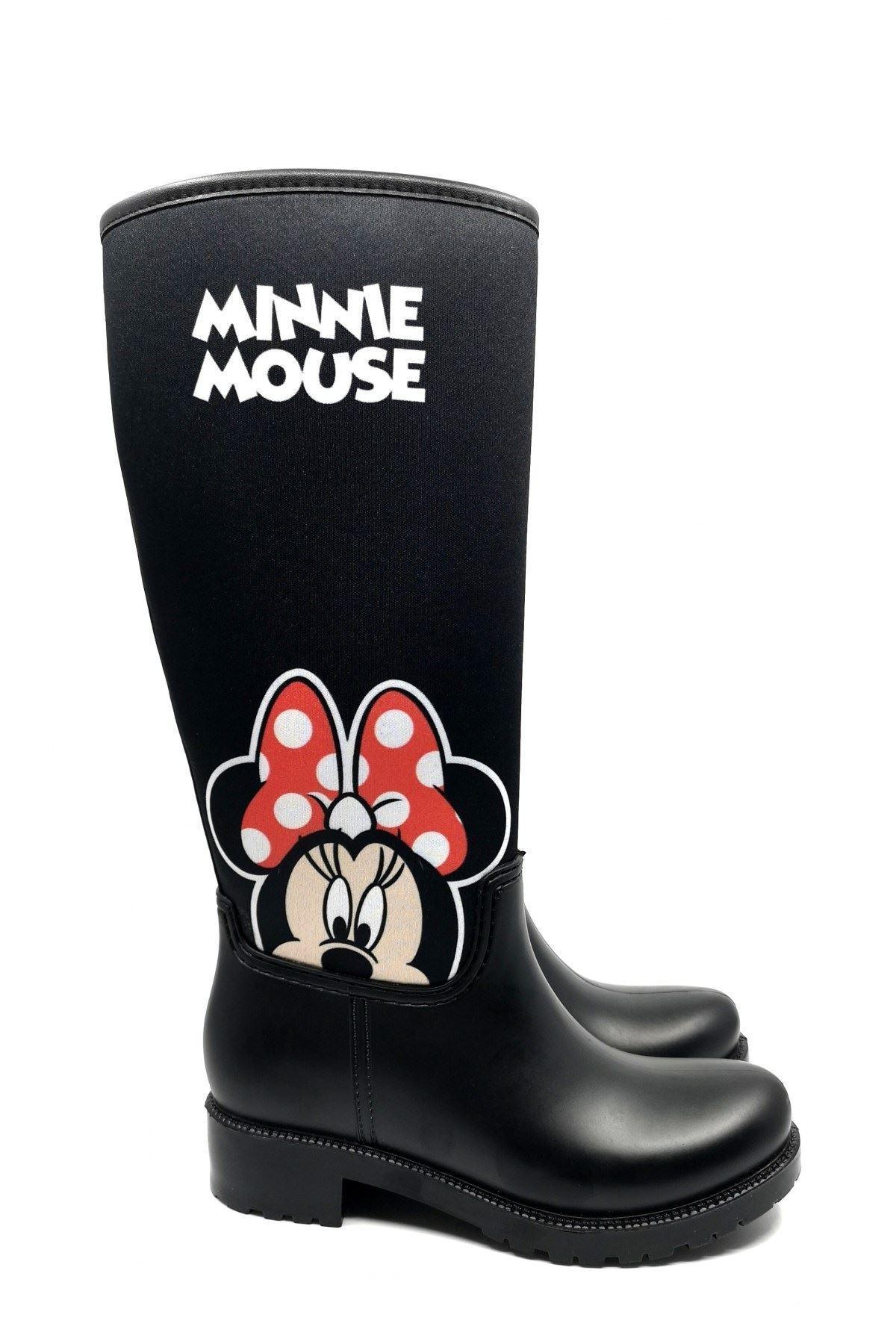 Minnie Mouse Kadın Yağmur Çizmesi