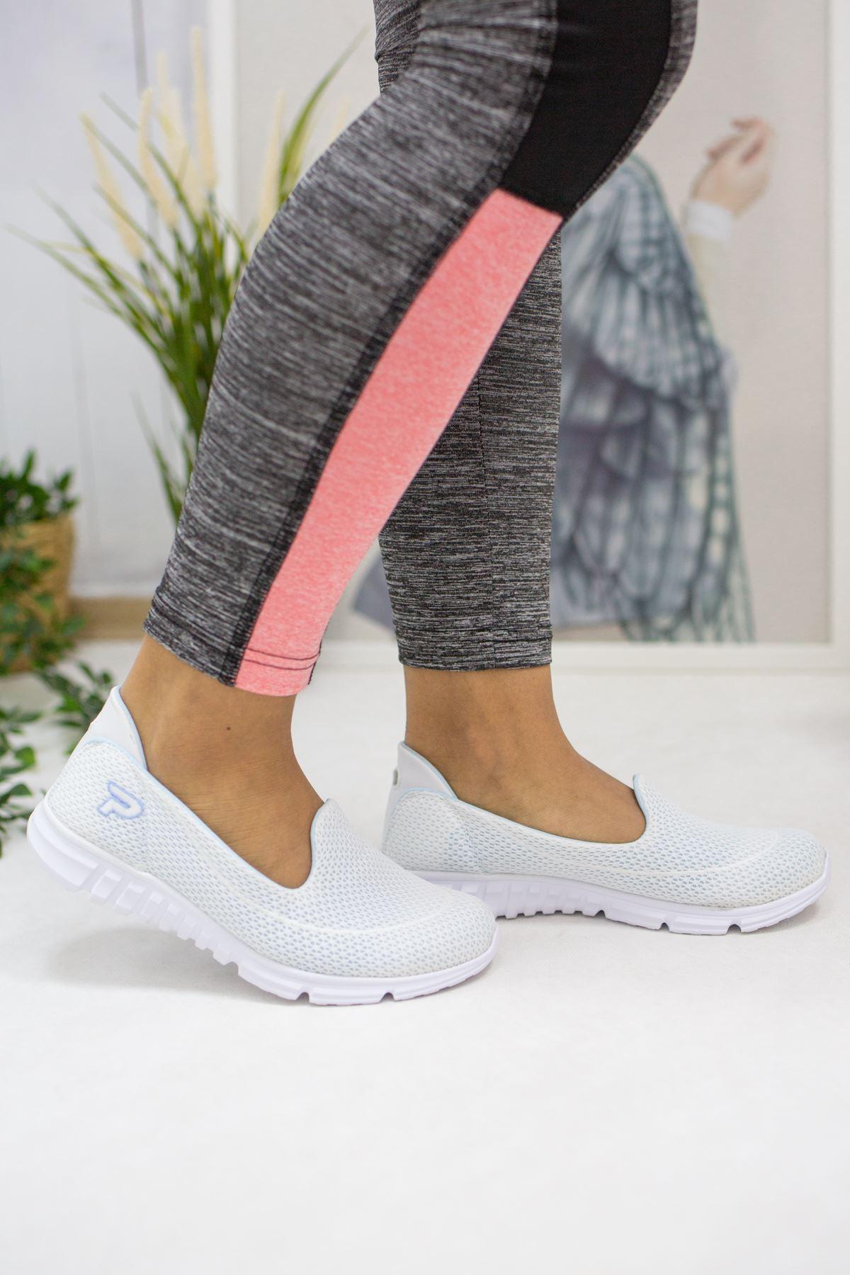 West Beyaz Kadın Günlük Ayakkabı