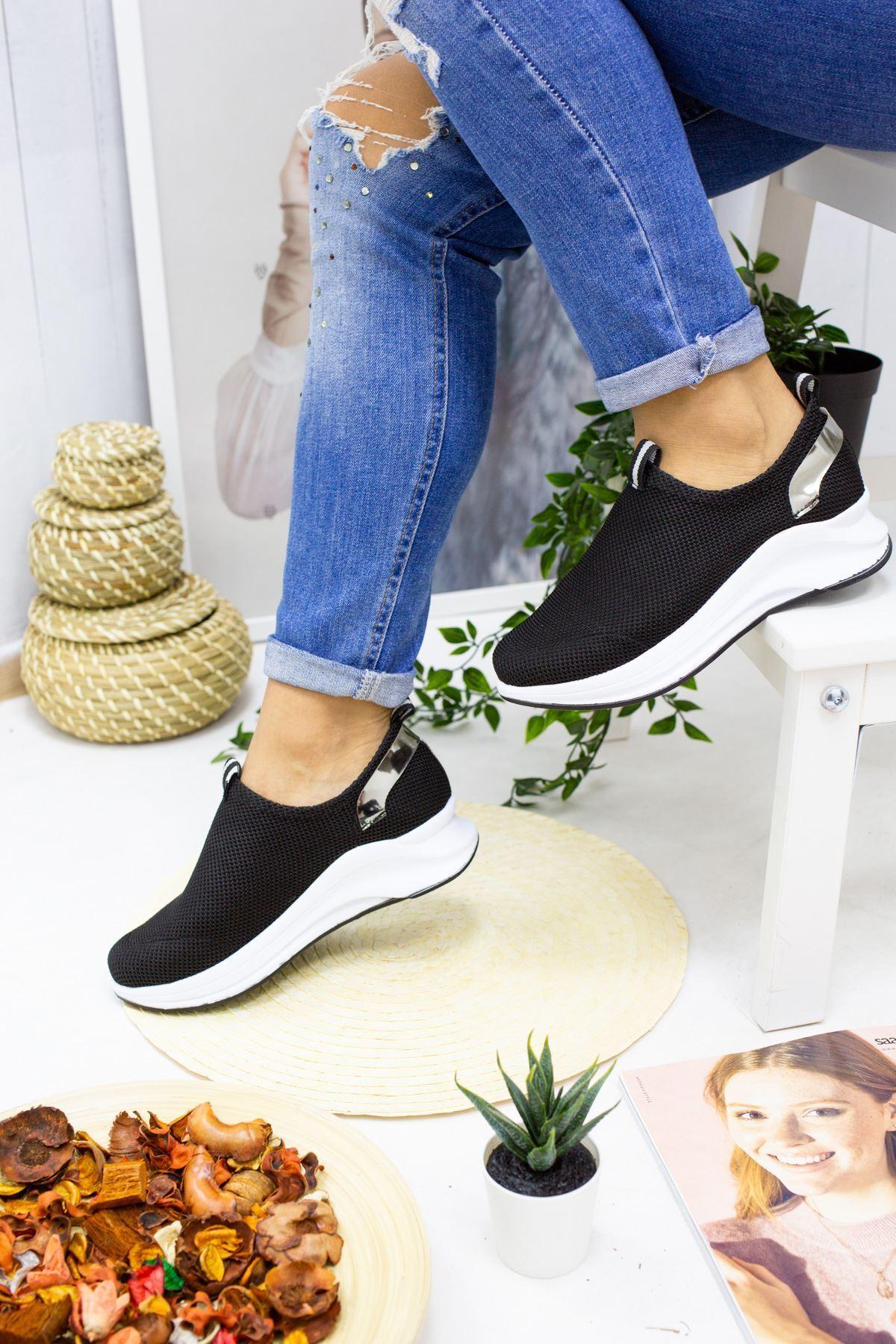 Sonya Siyah Kadın Spor Ayakkabı