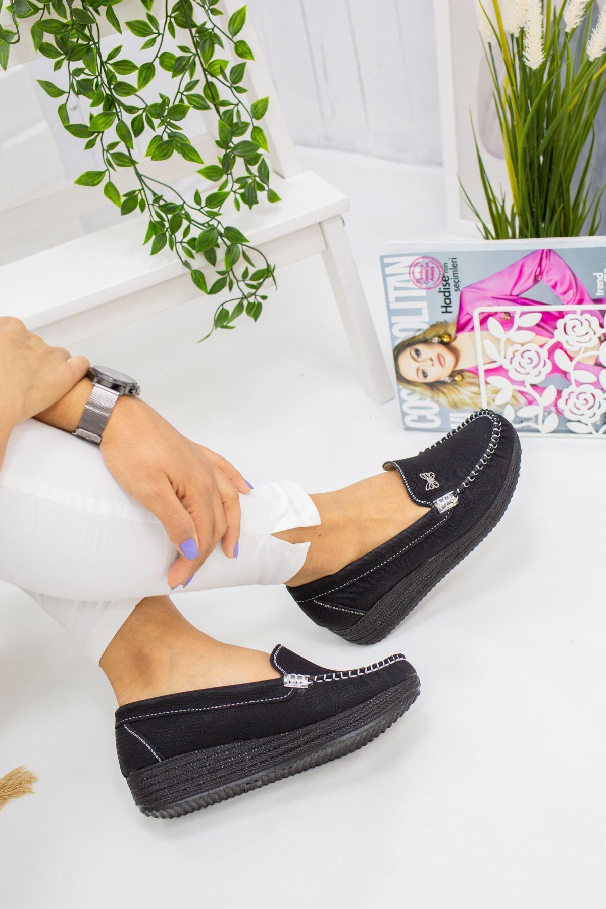 Lili Siyah Süet Günlük Ayakkabı