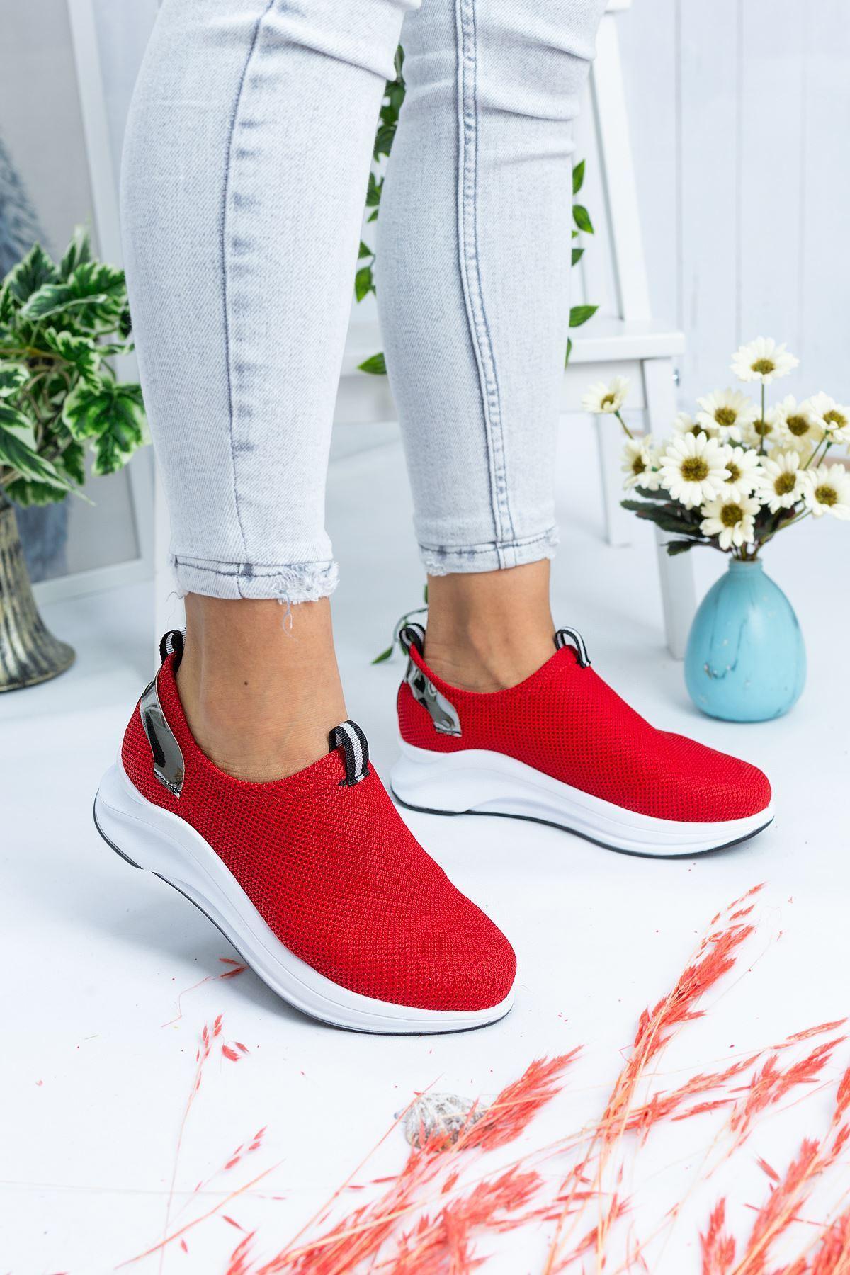 Sonya Kırmızı Kadın Spor Ayakkabı