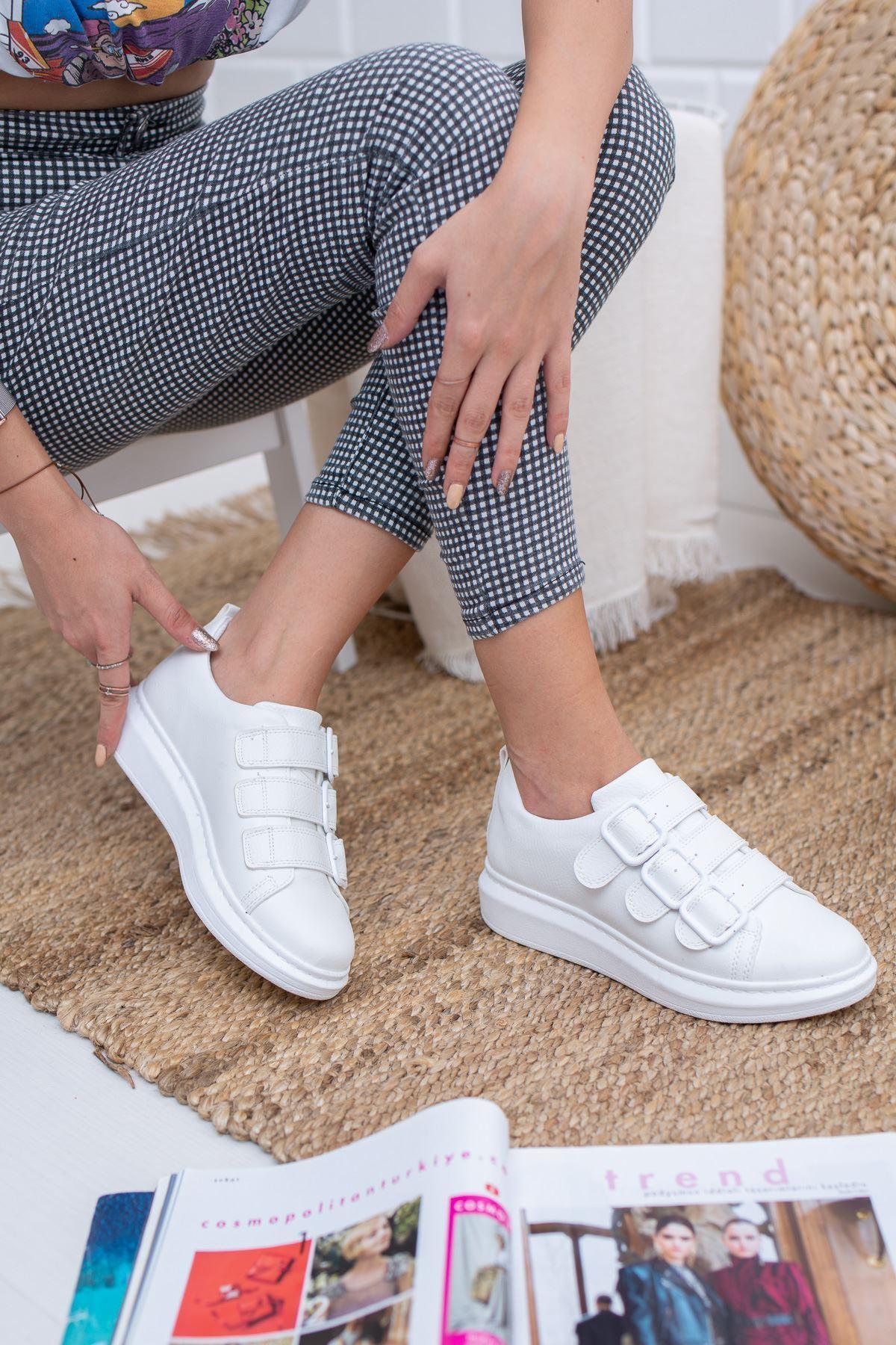 Gayle Beyaz Kadın Sneakers