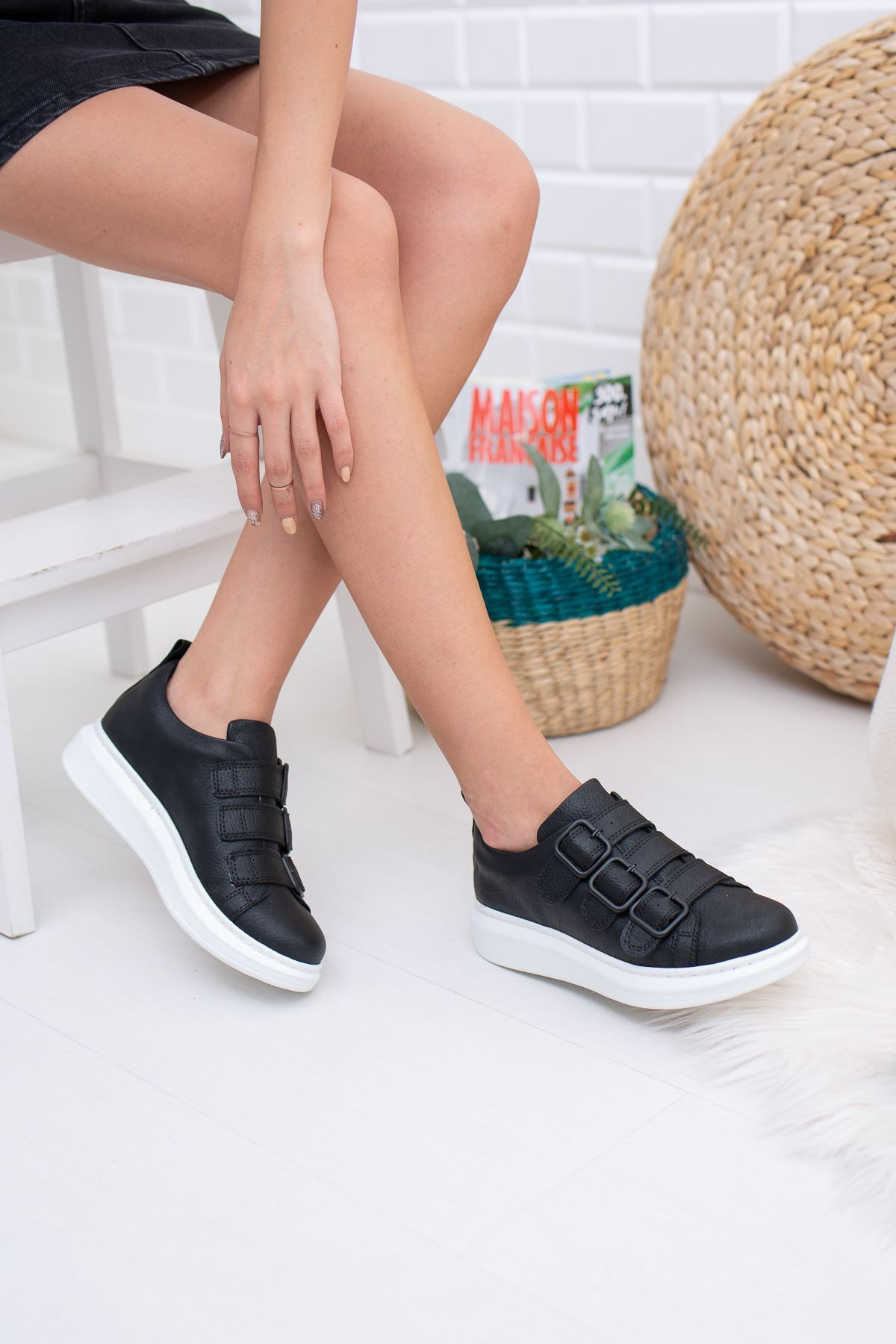 Gayle Siyah Kadın Sneakers