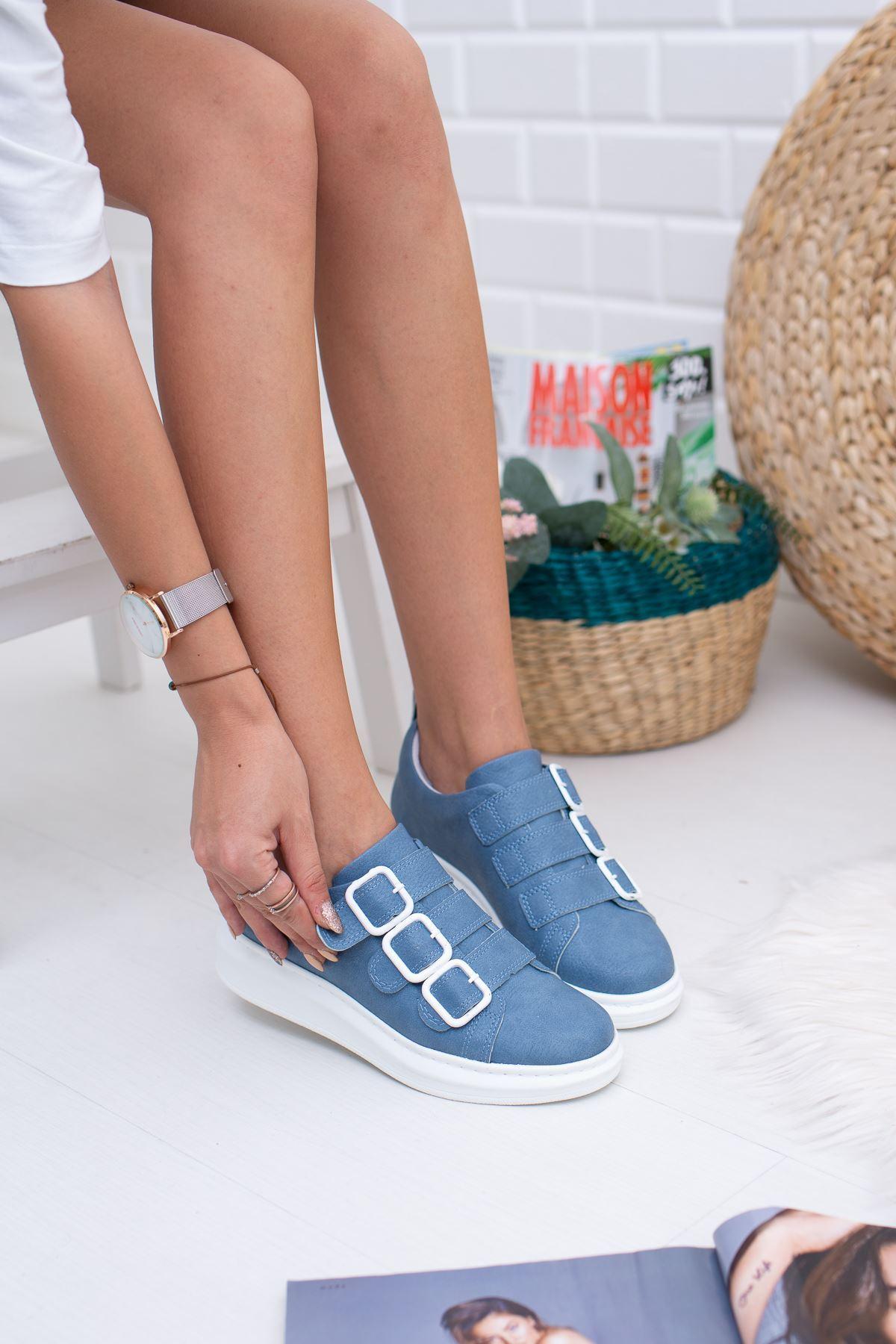 Gayle Mavi Kadın Sneakers