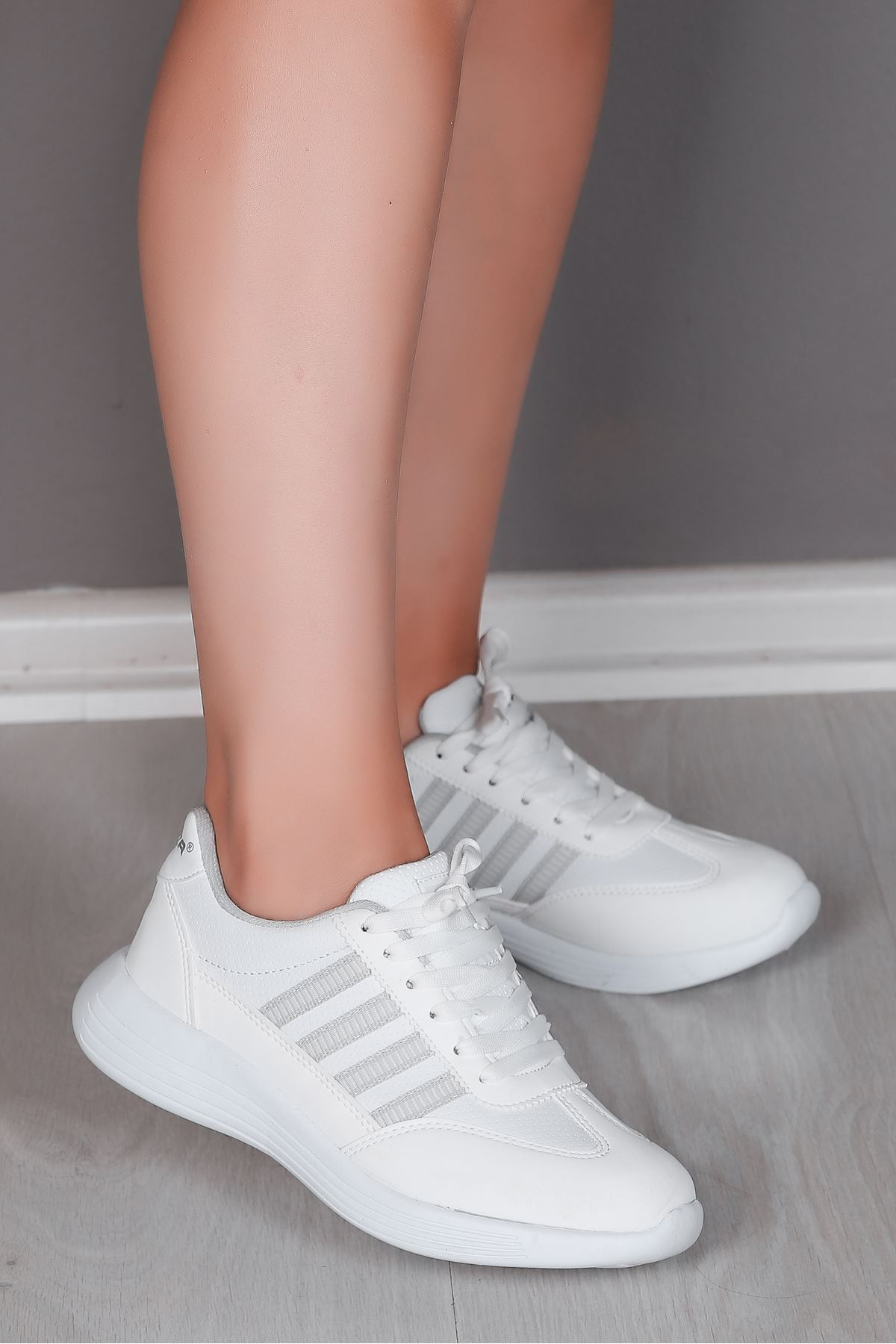 Giana Beyaz Kadın Spor Ayakkabı