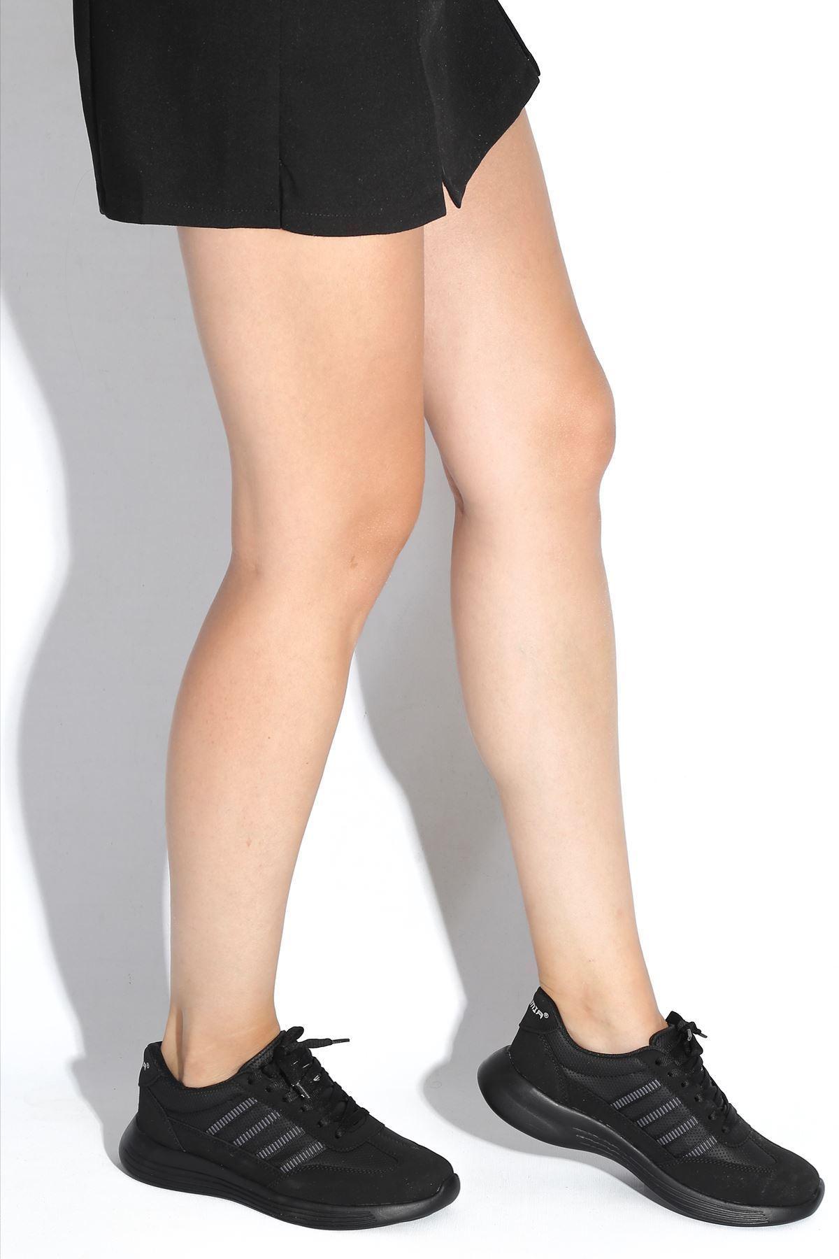 Giana Siyah Kadın Spor Ayakkabı