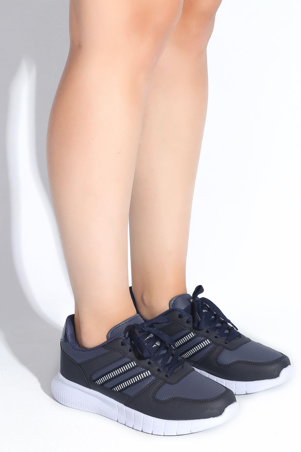 Erin Lacivert Kadın Spor Ayakkabı