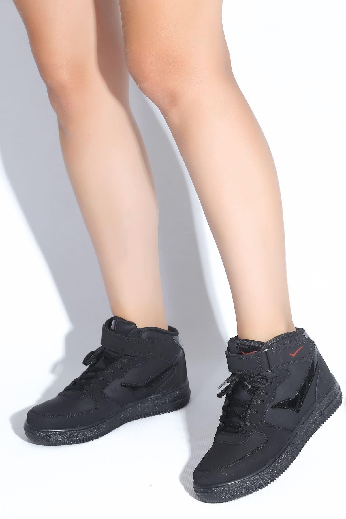 Katelin Siyah Kadın Spor Ayakkabı