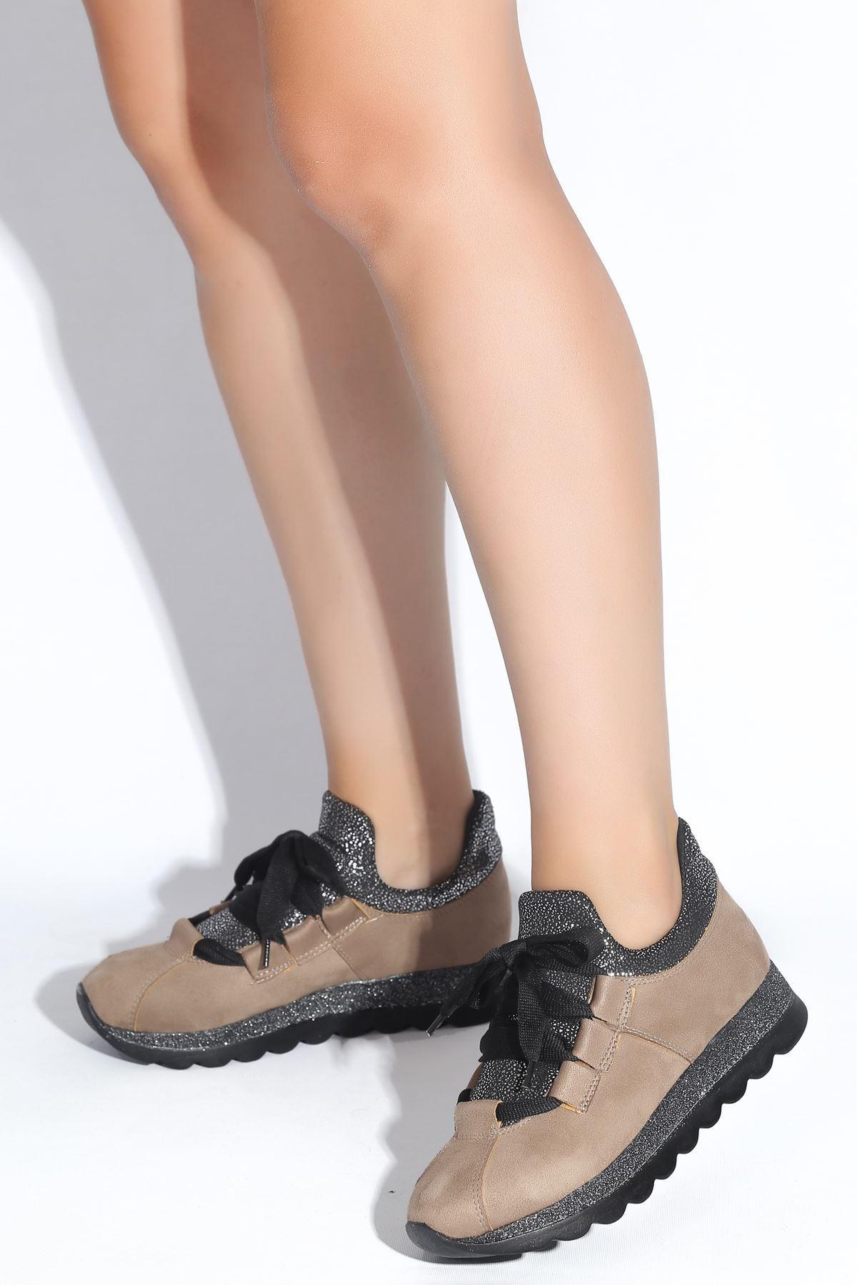 Hudson Vizon Süet Kadın Spor Ayakkabı