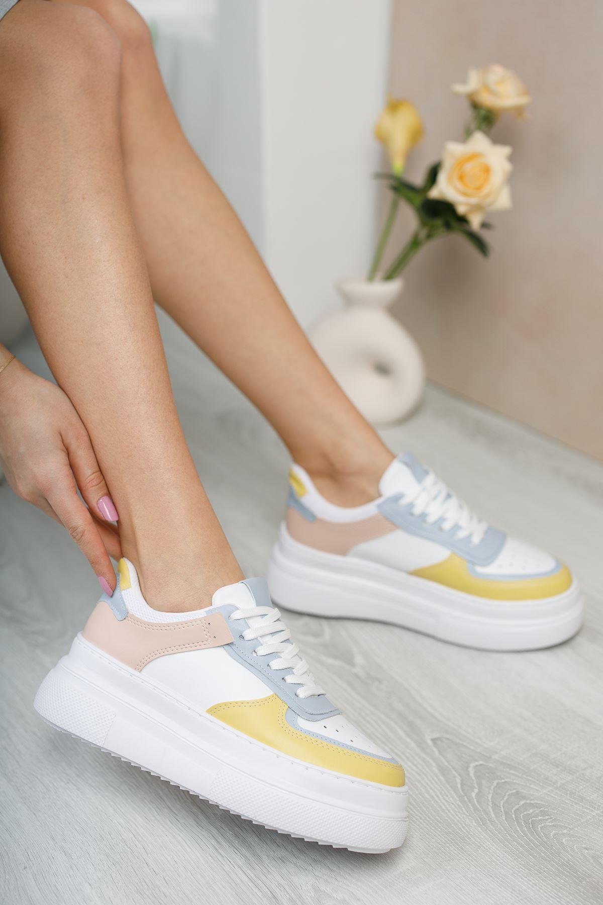 Dores Yüksek Taban Kadın Spor Ayakkabı