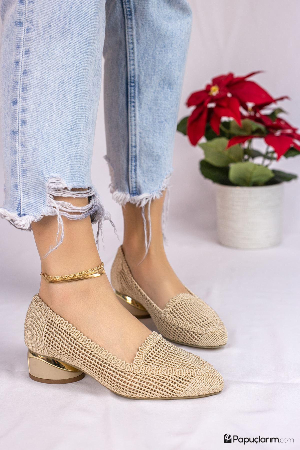 Meli Vizon Dantel Kadın Günlük Ayakkabı
