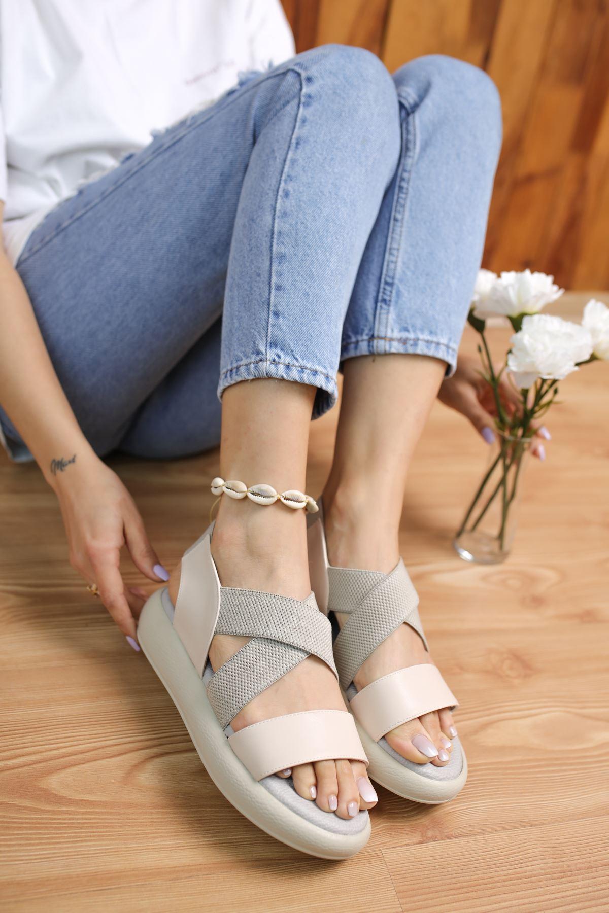 Mimi Vizon Kadın Sandalet