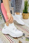 Loic Beyaz Hologram Kadın Spor Ayakkabı
